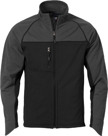 Fristads Acode Men's Fleece Jacket 1475 MIC (Black)